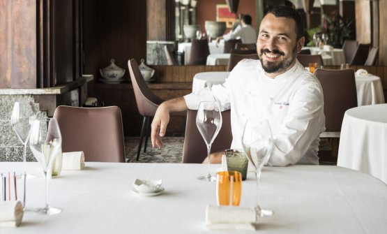 Lo chef Riccardo Bassetti (Foto Susy Mezzanotte)