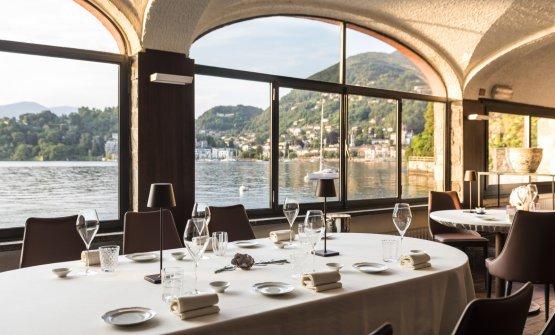 La bella sala del ristorante La Tavola dell'hotel Porticciolo