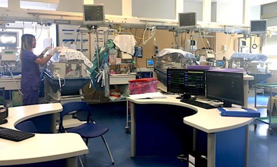 Il reparto di terapia intensiva neonatale costruito con i fondi di Festa a Vico