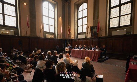 Il seminario, ospitato nel Salone del Brunelleschi del Palagio di Parte Guelfa