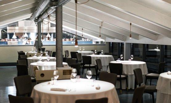 La sala del ristorante Il Tino