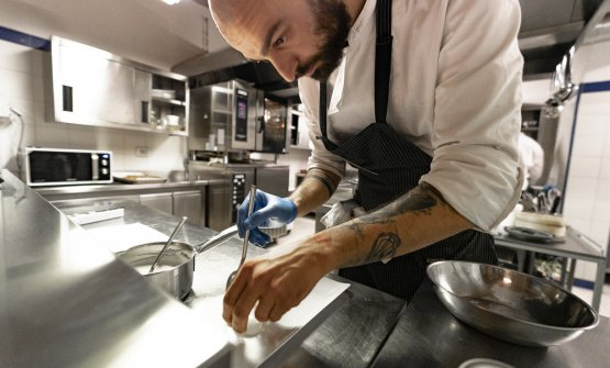 Lo chef Adriano Antonelli