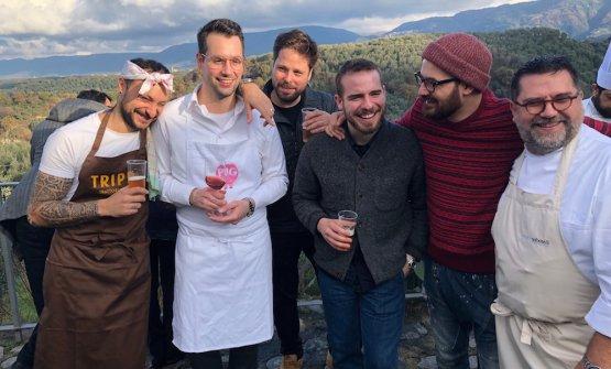Diego Rossi, Giacomo Sacchetto, Mauricio Zillo, Francesco Ruggiero, Luciano Monosilio e Angelo Sabatelli