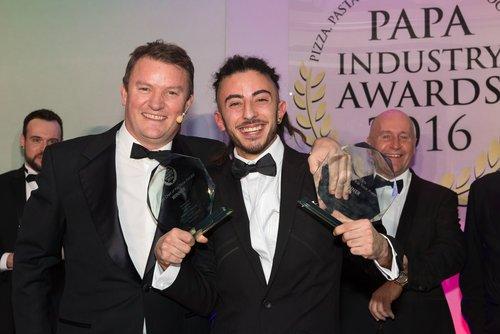 Mancinettipremiato aiPapa Industry Awards
