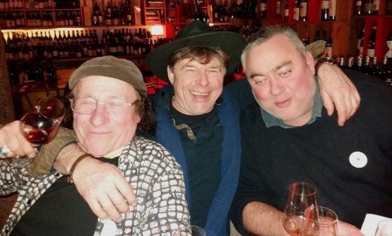 Da sinistra: Jean Pierre Robinot, Philippe Bornard