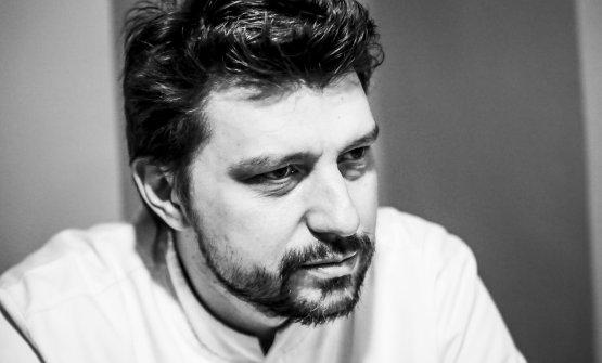 Alberto Gipponi, chef del ristorante Dina