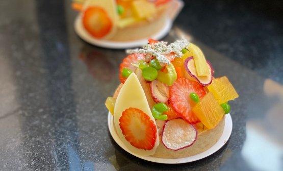 Le tartellette di frutta e verdura di Luca Lacalam