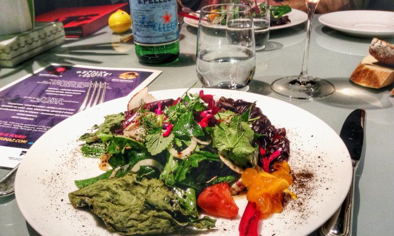 Lido Den Salad (prima dell'arrivo della cacio e pepe in vescica)