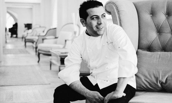 Lo chef Simone Ceppaglia