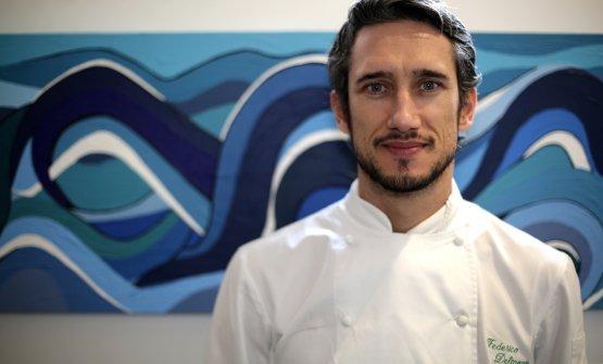 Lo chef Federico Delmonte