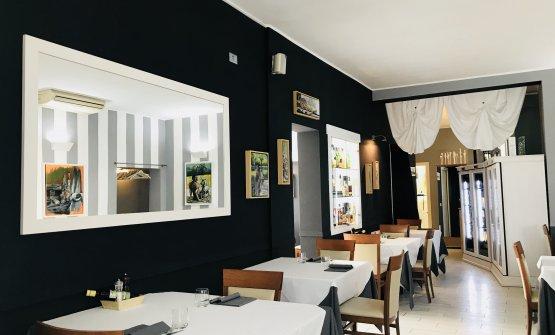 La sala del ristorante Bacaro Il Gusto