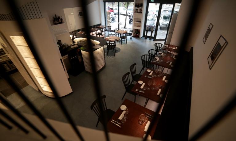 La sala del ristoranteAcciuga