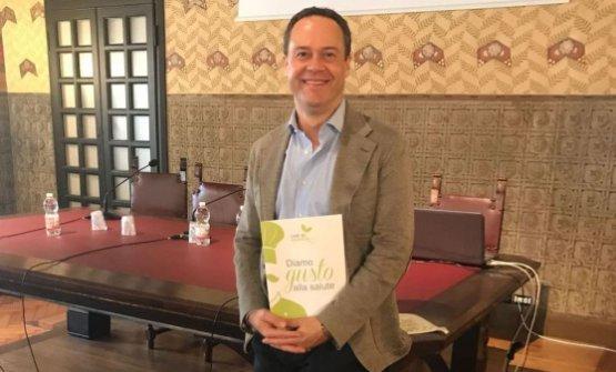 Luca Marchini alla presentazione del progetto