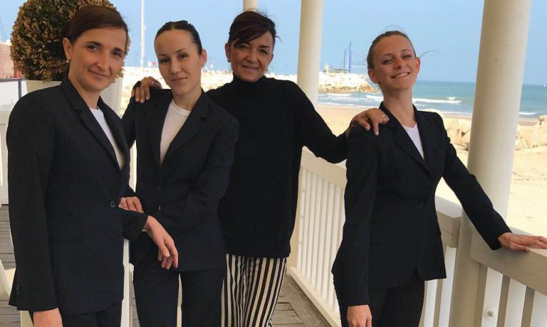Luana Mariani, Daria Nakhaeva,Catia Uliassi eV