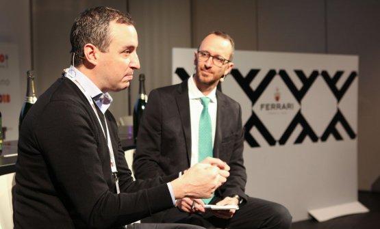 A dialogare con Guidara, il giornalista Federico De Cesare Viola