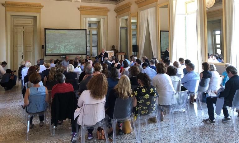 L'audience di Palazzina Appiani