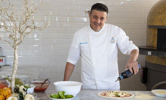 Il pizzaiolo Claudio De Siena