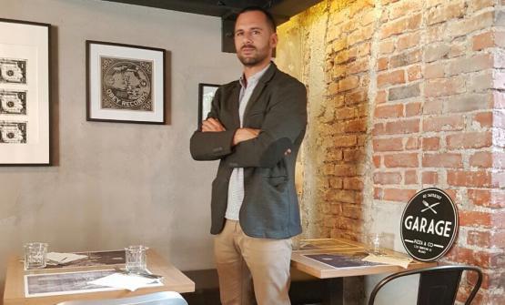 Matteo De Angelis, patron del Garage