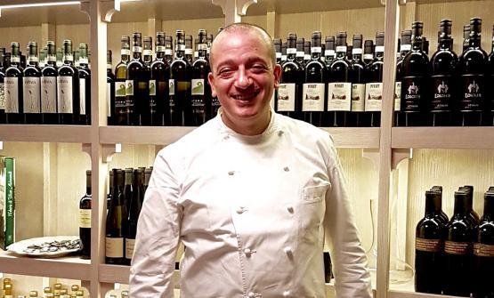 Pino Cuttaia è stato il primo chef ospite di Bioesserì a Milano. I prossimi saranno il 25 e 26 settembre Igles Corelli dell'Atman di Spicchio, e il 23 e il 24 ottobre Gianfranco Pascucci del Porticciolo di Fiumicino