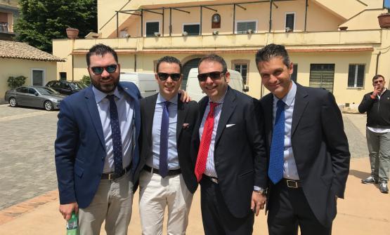 Alberto Tasinato, Matteo Zappile, Nicola Ultimo, Marco Amato