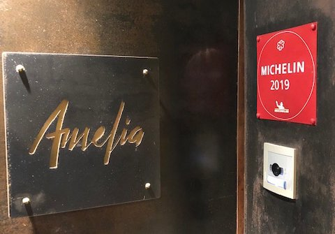 In San Sebastian,Ameliareceived a Michelin star only 8 months after it opened