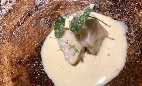 Rape: Monkfish, XO sauce and bagna cauda