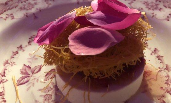 Per dessert, Crema alla rosa damascena