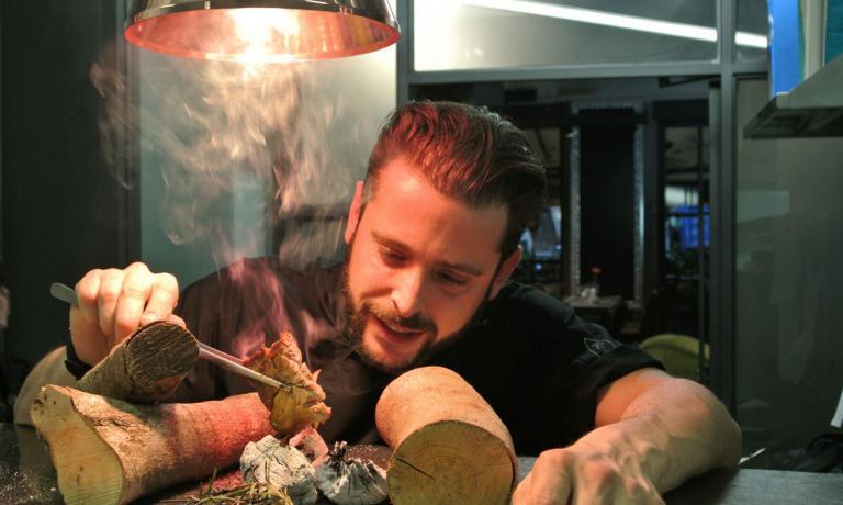 Emiliano Lopez,chef argentino a Roma, alle prese