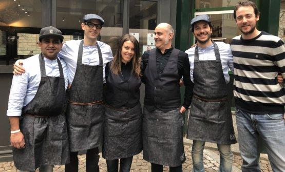 La squadra di Exit-Gastronomia Urbana, la seconda