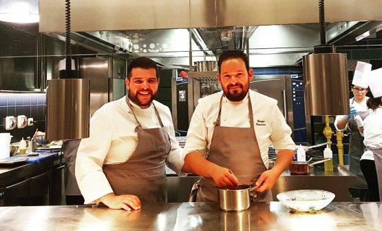 Insieme.Giuseppe Causarano e Antonio Colombo hanno scelto di affrontare così l'avventura del loro ristorante a Marina di Ragusa, VotaVota