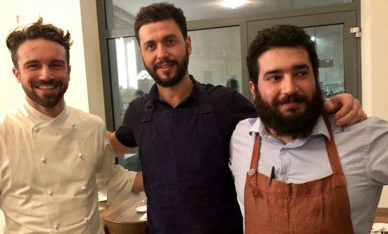 Mattia Grilli,Federico Fiore e Marco Marone di Nebbia, novità milanese in via Torricelli 15, zona Navigli