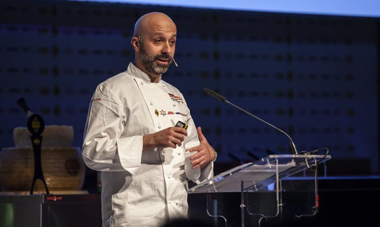 Niko Romito, cuoco diRealeCasadonnaaCastel