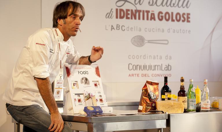 Davide Oldani del D'O di Cornaredo (Milano): u