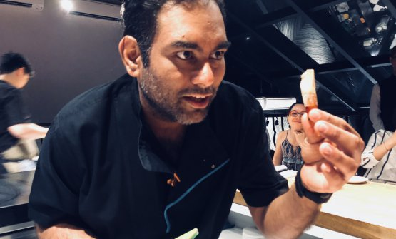 Gaggan Anand, 39, born in Calcutta, India. He open