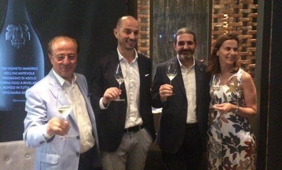 Armando, Alberto Serena, Stefano Nandi eSarah Serena