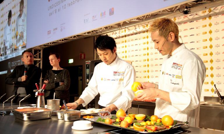 In primo piano, Kei Kobayashi, restaurant Kei, Parigi