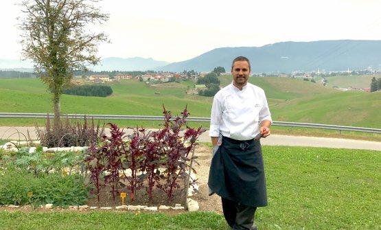 Alessandro Dal Degan,chef-patron de La Tana Gour