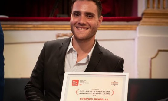 Lorenzo Sirabella premiato da 50 Top Pizza