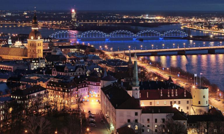 Panoramica su Riga