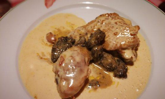 Pollo di Bresse alla crema