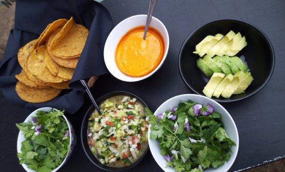 I fish taco del pranzo, a cura di Rocio Sanchez