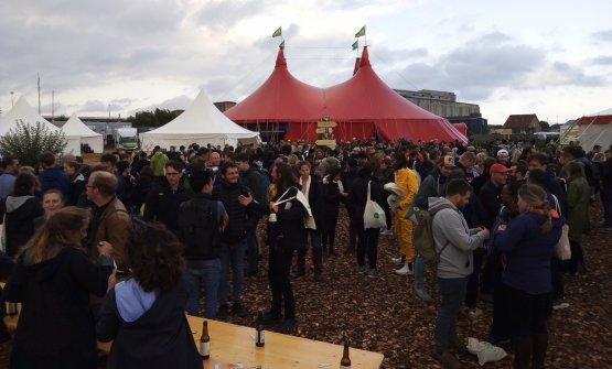 Il tendone da circo di MAD, simposio di due giorni concluso ieri a Copenhagen