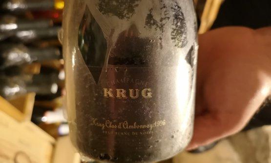 Champagne Krug 1996 Clos d'Ambonnay