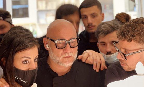 Francesco Martucci, a Identità Golose Milano, con