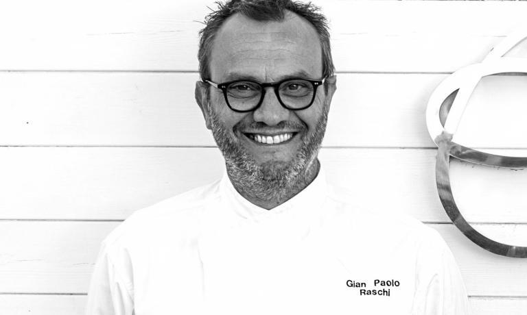 Gian Paolo Raschi, 49 anni, ristorante Guido a Rimini,una stella Michelin. E' la terza generazione di ristoratori dell'insegna (foto Giorgio Salvatori)