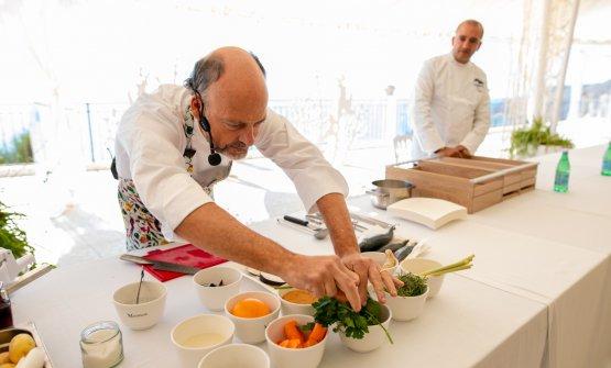 Moreno Cedroni a Cookin'Med