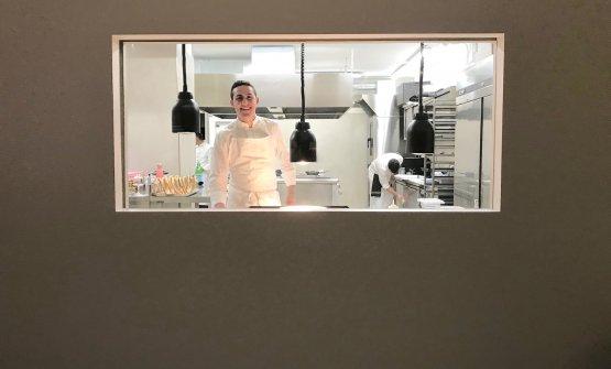 Davide Guidara dal 27 luglio scorso è chef del Su