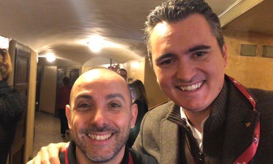 3STELLATI. Riccardo Monco (Enoteca Pinchiorri) e Giovanni Santini (Dal Pescatore)