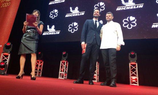 Enrico Bartolini, chef del ristorante omonimo, con