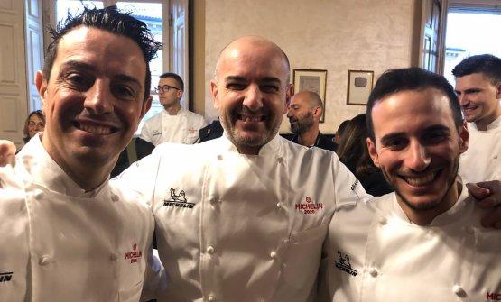 NEO*.Giorgio Bortolucci (Atelier, Domodossola), Federico Zanasi (Condividere, Torino) e Adriano Dentoni Litta (La Tuga, Ischia)